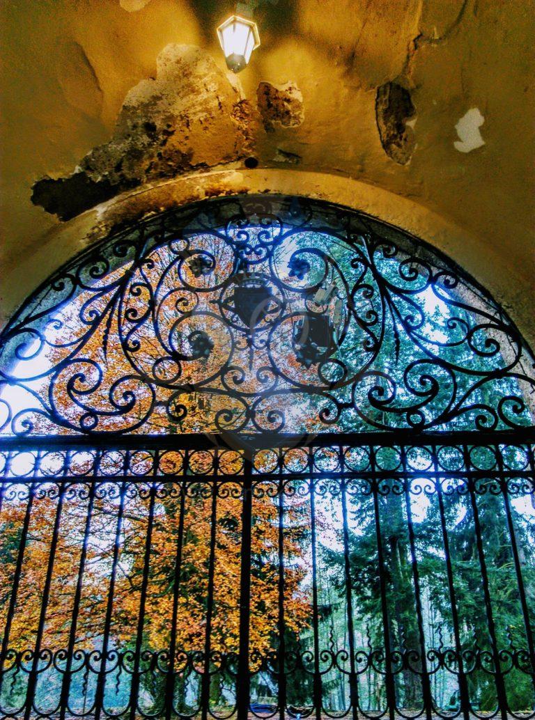 Brána zámek Líšno
