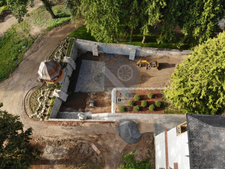 Rekonstrukce hradní příkop Líšno