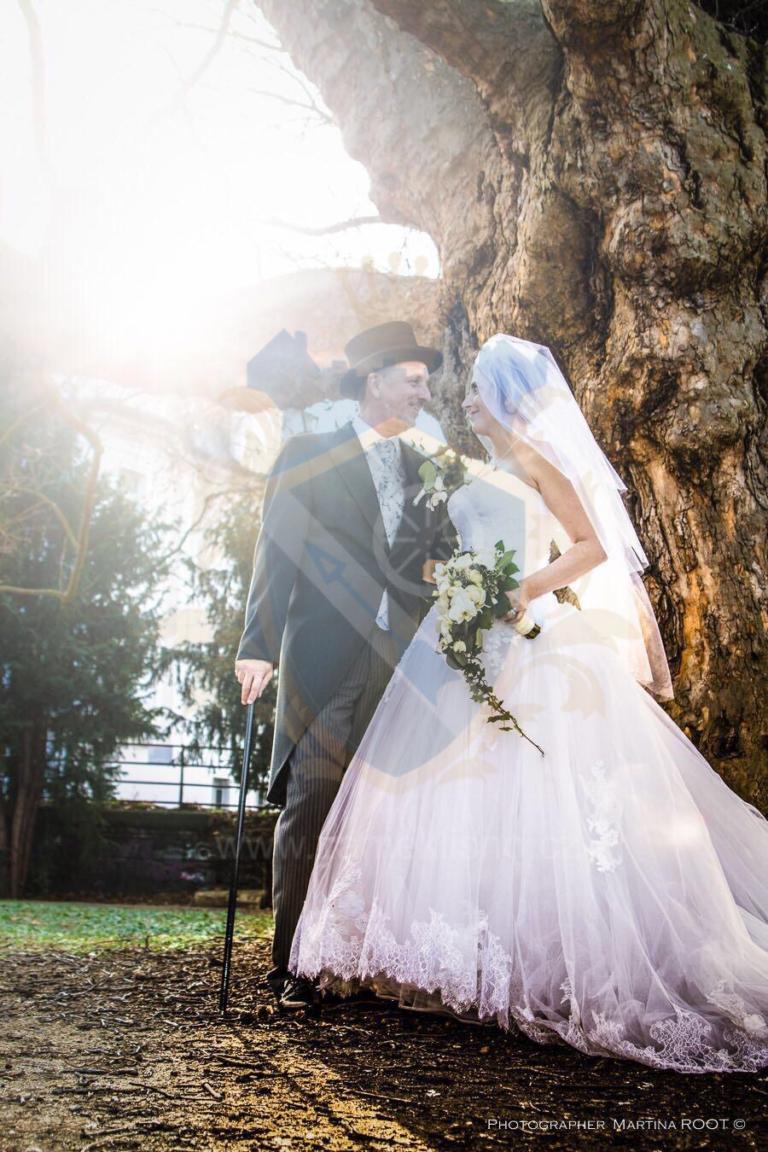 Svatba zámek Líšno