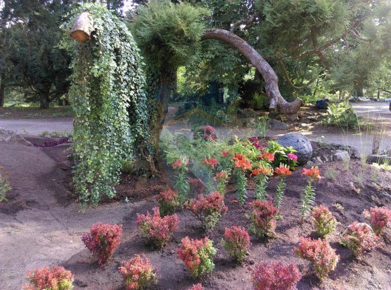 Zahrada zámek Líšno