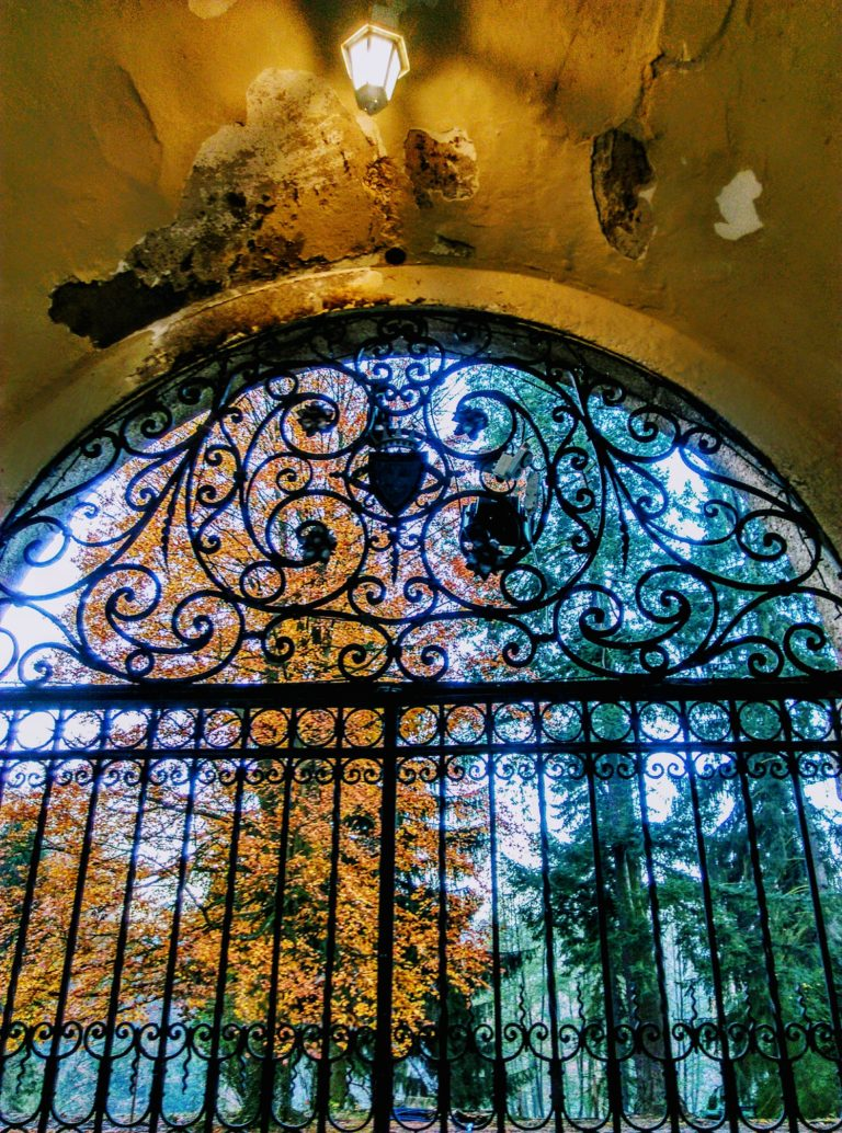 zámek Líšno brána